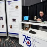 CAS 75th Anniversary Booth